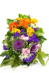 Zwei Blumenstraeusse 4
