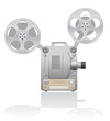 cinema projector vector illustration