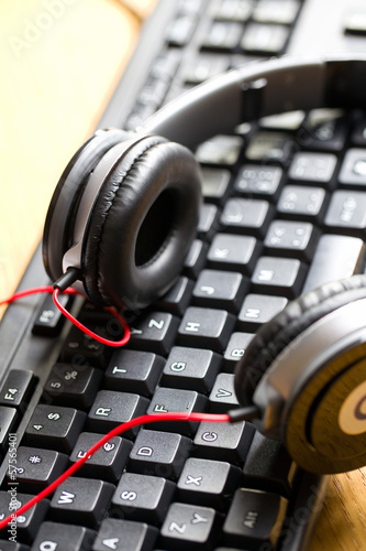 headphones with keyboard