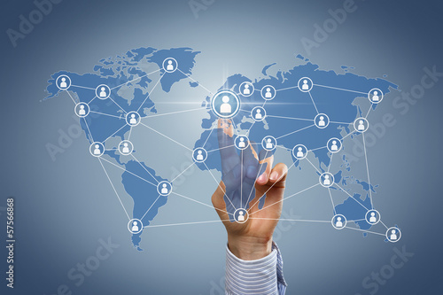Network arround the world