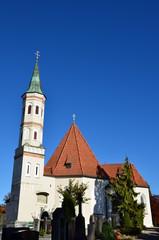 Kirche von Weilheim in Oberbayern
