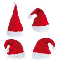 4 verschiedene Nikolausmützen