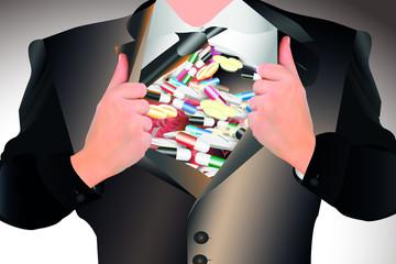 Medikamentenüberfluss