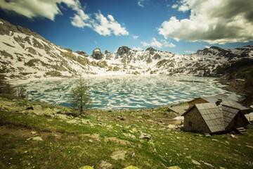 Lac d'Allos france