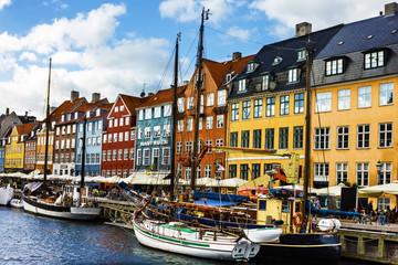 COPENHAGEN, Denmark: Seafront Nyhavn