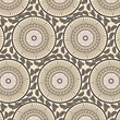 floral pattern on beige backgruond