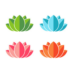 Lotus abstract icons