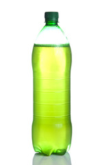 Plastic bottle with non-alcoholic beverage