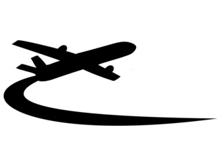 Airplane symbol design