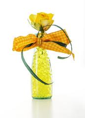 gelbe Blumenperlen