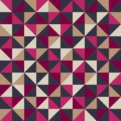 Triangle retro seamless background
