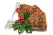 Delicious Christmas Fruitcake - Sliced