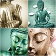Buddha Collage
