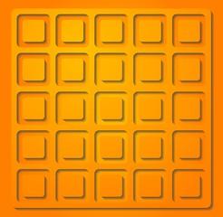 Bright orange vector illustration