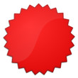 Schild Stern rot