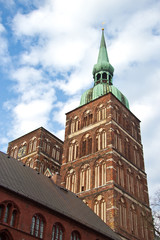 st Nicolai Church in Stralsund, northarn Germany