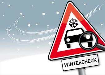 Wintercheck, Symbolbild