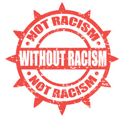 Without Racism-stamp