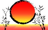 Paesaggio al tramonto - 57586672