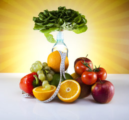 Fitness Food, diet, Vegetable and fruit, sunshine