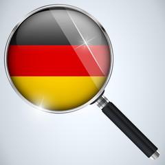 NSA USA Government Spy Program Country Germany