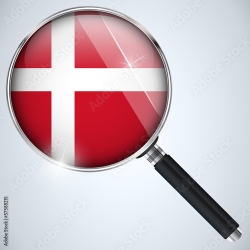 NSA USA Government Spy Program Country Denmark