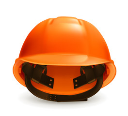 Hard hat vector icon