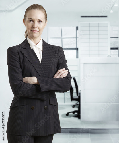 Portrait of Mid-Adult Businesswoman