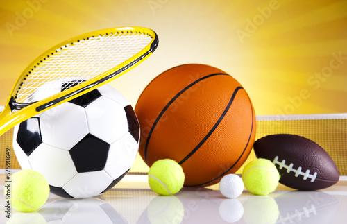 Fototapeta Sports Equipment detail