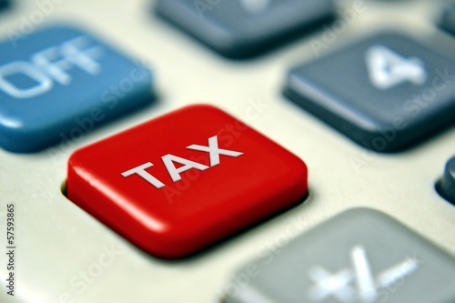 Tax Calculator with Red Button