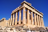 The ancient Parthenon, the Acropolis, Athens, Greece