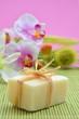 Wellness Seife Orchideen Rosa Grass