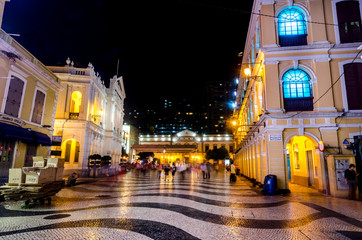 Largo do Senado, Senado Square, Macau