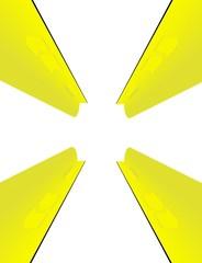 grattacieli gialli