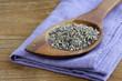 macro shot fragrant violet lavender dried condiment