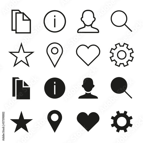 ios 7 icons set