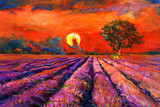 Fototapeta Lavender fields
