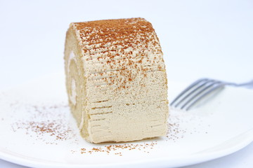 Tiramisu Coffee Roll