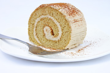 Tiramisu Coffee Roll