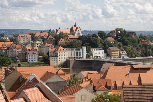 Germany, Meissen cityscape