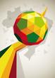 fussball poster ball