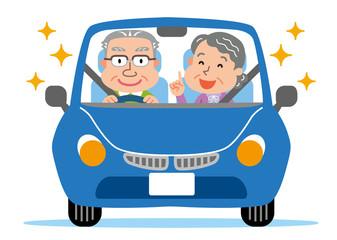 高齢者 車 ドライブ