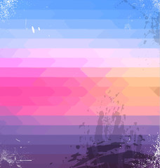 Sophisticated abstract grunge background