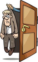 fired man cartoon illustration