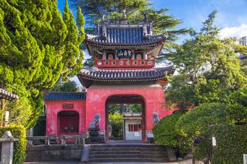 Sofuku-ji Temple in Nagasaki, Japan