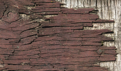 Weathered old wood background