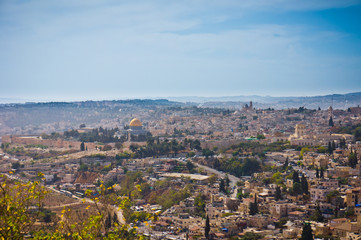 Beautiful view of Jerusalem city, Israel
