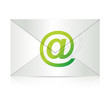 message email illustration design