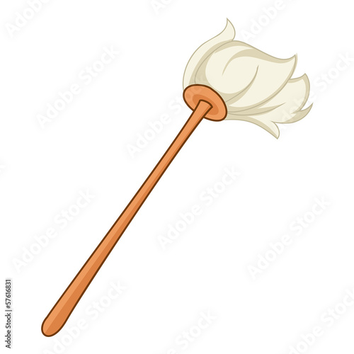 mop Isolated illustration