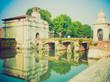 Padua, Italy retro looking
